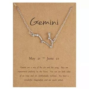 NEW!! ♊️ Gemini Constellation Necklace